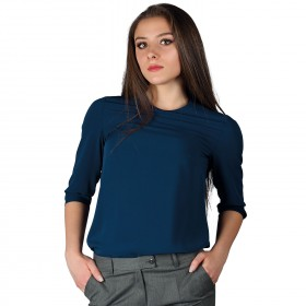 IVON NAVY Lady's blouse