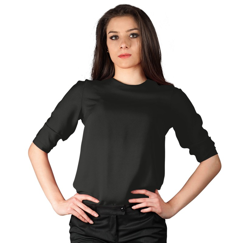 IVON BLACK Lady's blouse