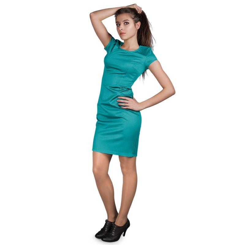 Дамска рокля RIVA PETROLEUM