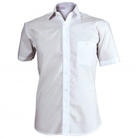 CAMISA WHITE Men's short sleeve shirt