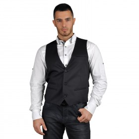 RAGE BLACK Men's vest