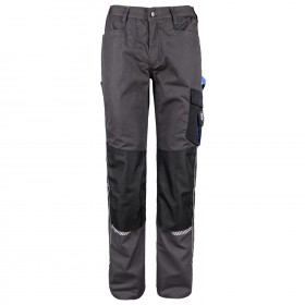 PRISMA GREY/ROYAL BLUE Work trousers