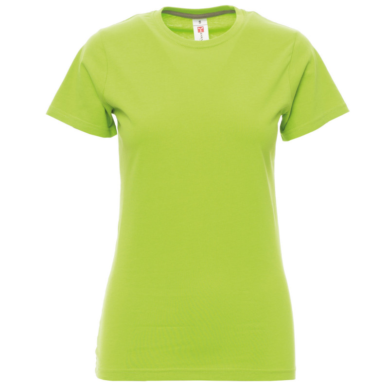 PAYPER SUNSET ACID GREEN Lady's t-shirt