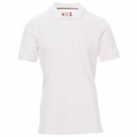 PAYPER VENICE WHITE Polo t-shirt