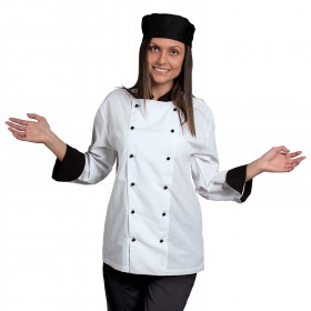 NAPOLI WHITE Chef's tunic