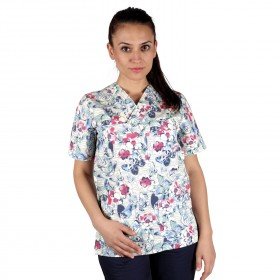 BUTTERFLIES Lady's medical tunic