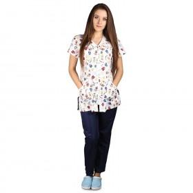 OLGA Lady's medical tunic 2