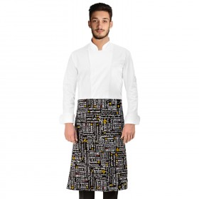 BLACK MENU Apron