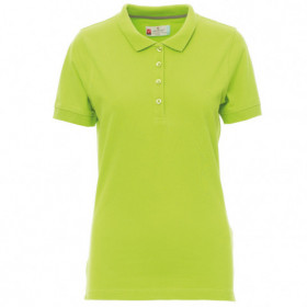 PAYPER VENICE ACID GREEN Lady's polo t-shirt