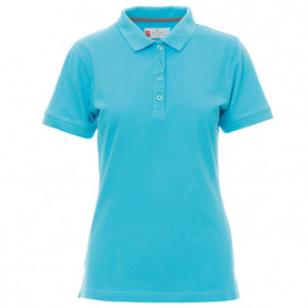 PAYPER VENICE ATOLL BLUE Lady's polo t-shirt