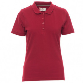 PAYPER VENICE BORDEAUX Lady's polo t-shirt 1