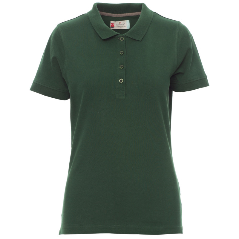 PAYPER VENICE GREEN Lady's polo t-shirt