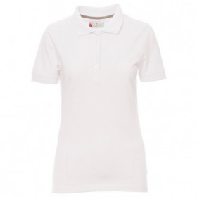 PAYPER VENICE WHITE Lady's polo t-shirt