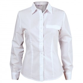 ELEGANCE WHITE Lady's long sleeve shirt