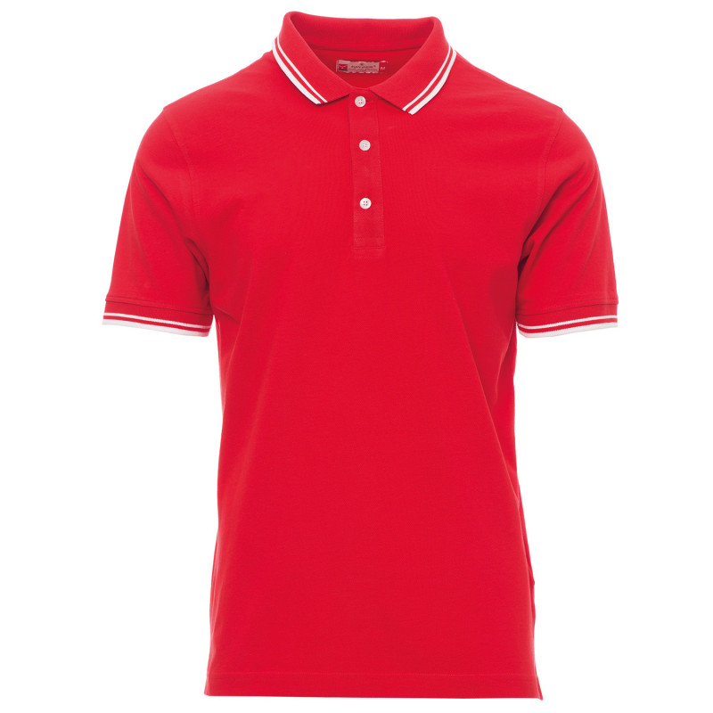 PAYPER SKIPPER RED Polo t-shirt