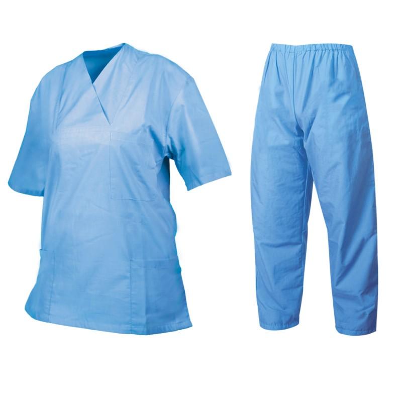 Медицински туника с панталон G3 LIGHT BLUE