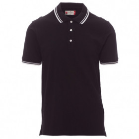 PAYPER SKIPPER BLACK Polo t-shirt