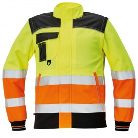 KNOXFIELD HV YELLOW/ORANGE High visibility jacket