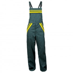 LT1 GREEN Work bib pants