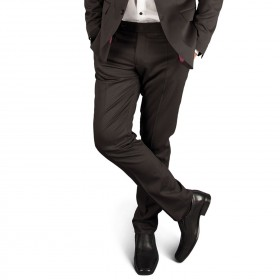 RAGE BLACK Men's suit trousers