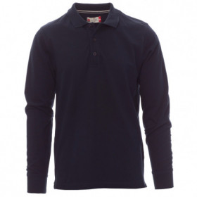 PAYPER FLORENCE NAVY Long sleeve polo t-shirt