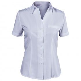 LEA LIGHT PURPLE Lady's short sleeve shirt