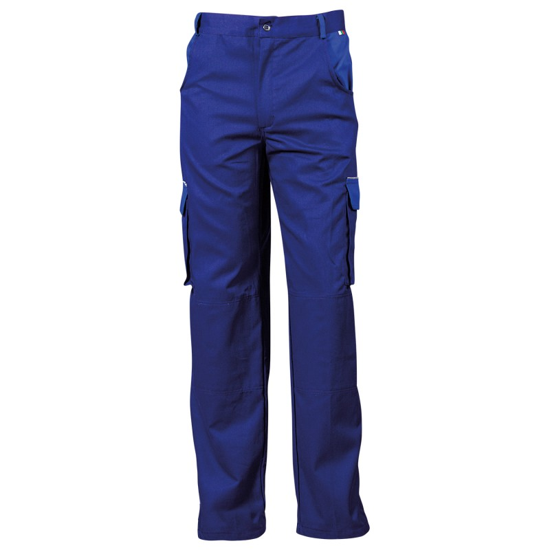 ASIMO BLUE Work trousers