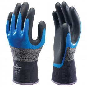 SHOWA 376R Nitrile dipped gloves