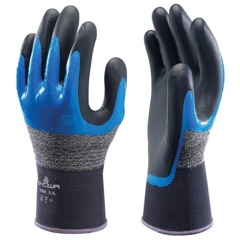 Ръкавици топени в нитрил SHOWA 376R
