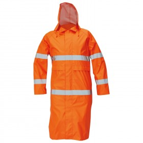 GORDON HV ORANGE Rain coat