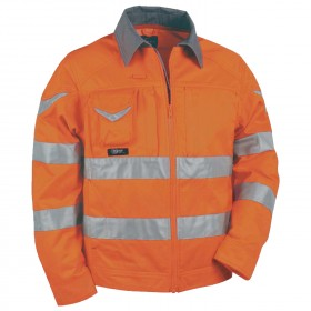 WARNING High visibility jacket