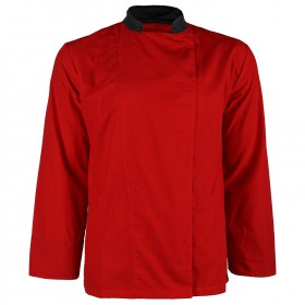 NAPOLI RED Chef's tunic