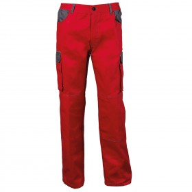 ASIMO RED Work trousers