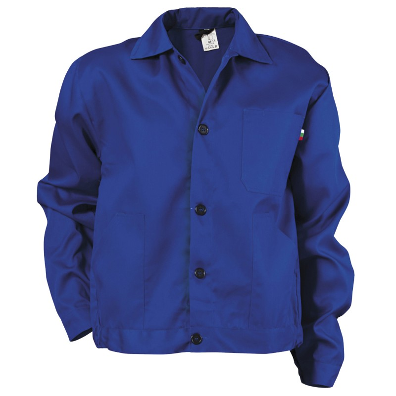 NAXOS-BA ROYAL BLUE Work jacket