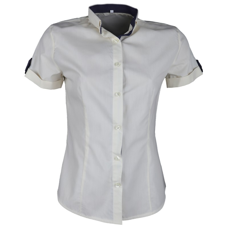 PORTO FINO CHAMPAGNE Lady's short sleeve shirt