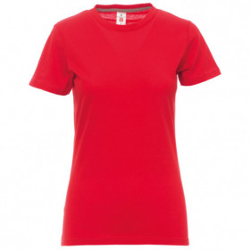 PAYPER SUNSET RED Lady's t-shirt 1