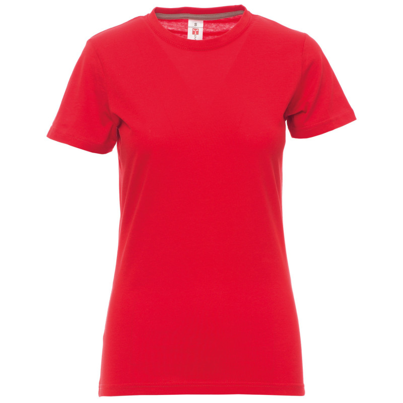 PAYPER SUNSET RED Lady's t-shirt