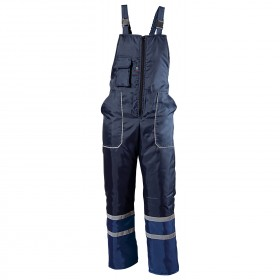 COLLINS WINTER BLUE Work bib pants