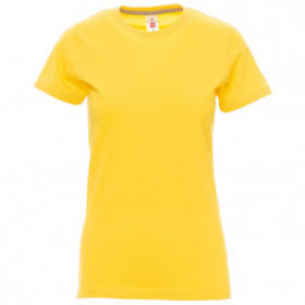 PAYPER SUNSET YELLOW Lady's t-shirt