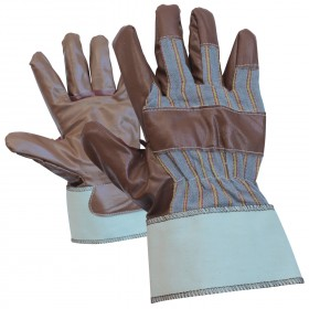 Ръкавици от винил и плат GARGANEY
