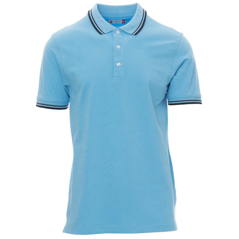 PAYPER SKIPPER LIGHT BLUE Polo t-shirt
