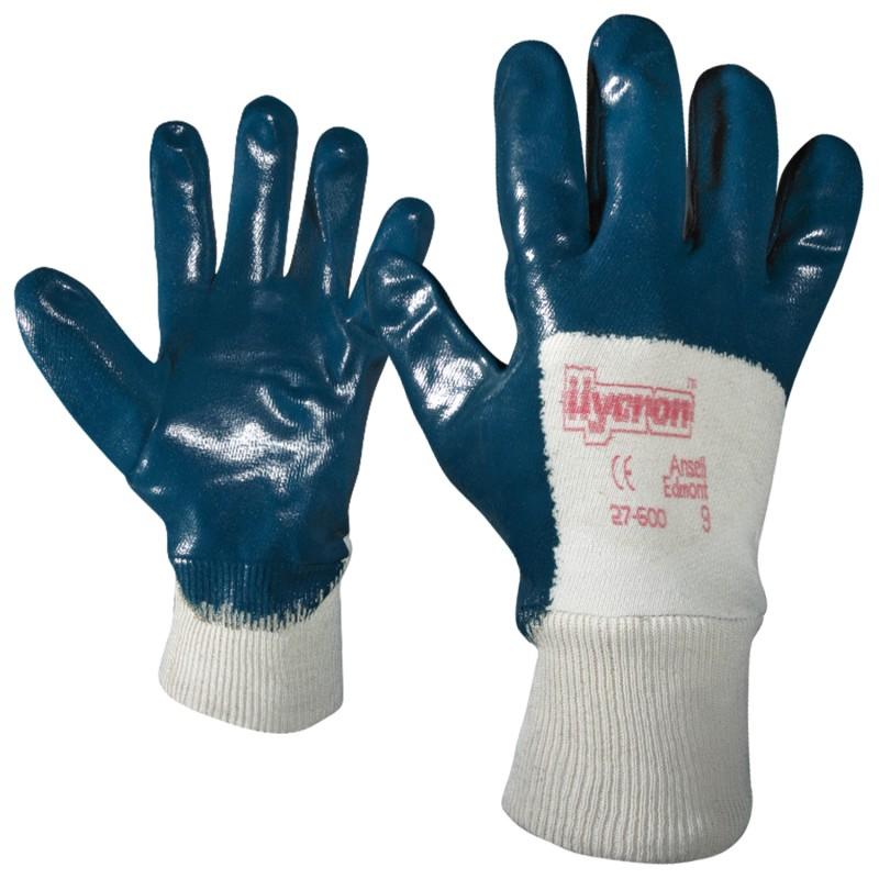 Ръкавици топени в нитрил HYCRON