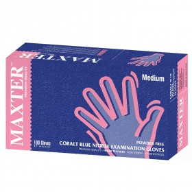 Еднократни ръкавици от нитрил MAXTER NITRILE PF