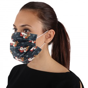 Хигиенна маска SANI 3 CHRISTMAS 50 бр.
