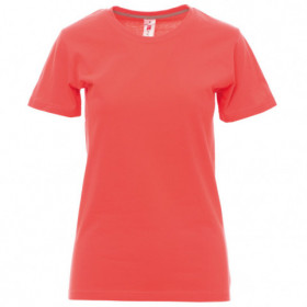 PAYPER SUNSET CORAL Lady's t-shirt 1
