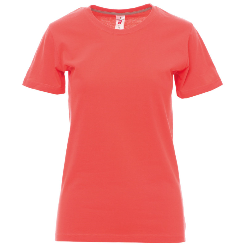 PAYPER SUNSET CORAL Lady's t-shirt