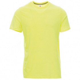PAYPER SUNSET FLUO YELLOW T-shirt 1