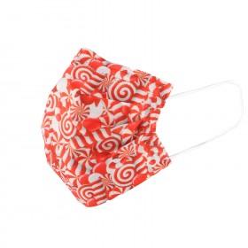 Санитарна маска SANI 3 CHRISTMAS CANDY - 10 бр.