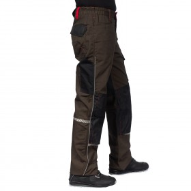 PRISMA BROWN Work trousers 5