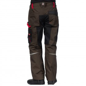 PRISMA BROWN Work trousers 3